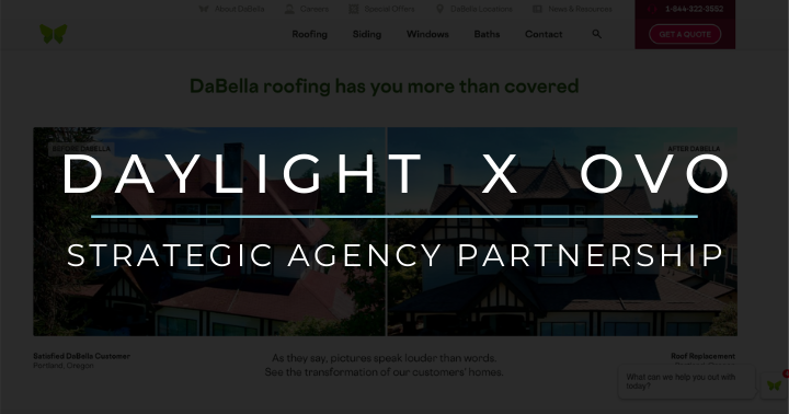 Daylight X OVO: Strategic Agency Partnership