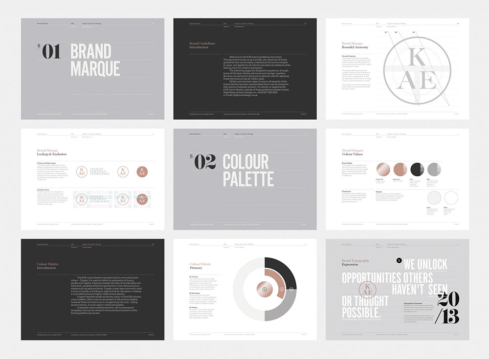 brand style guide pdf layout