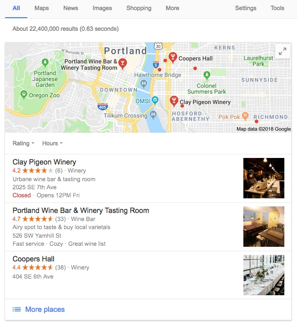Local Search Result for Wine