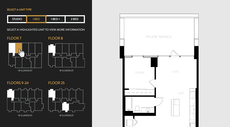 Tutorial creating an interactive svg map blog parallax.