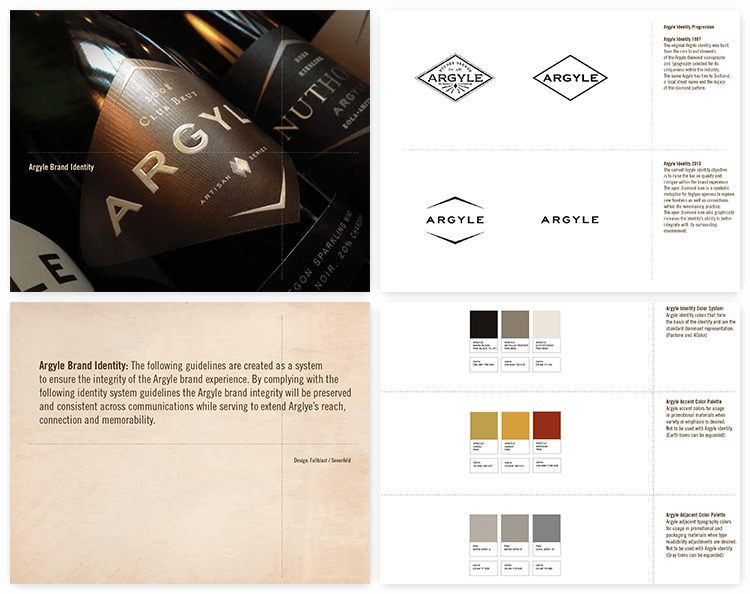 oregon winery visual branding