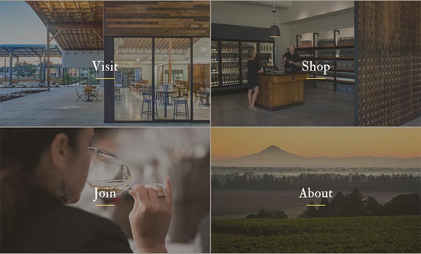 in webpage navigation