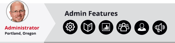Admin back-end editing features